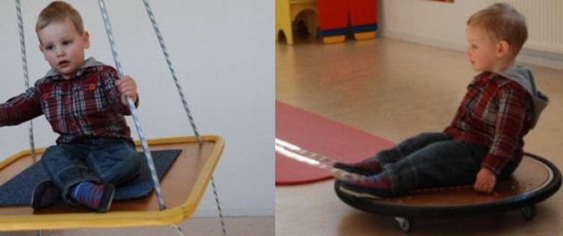 Kinderoefentherapie en balans & stabiliteit