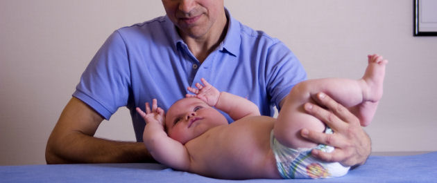 Osteopathie bij baby's